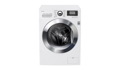 LG F1495BDN2H Freistehend Frontlader 12kg 1400RPM A+++ Weiß Waschmaschine (Weiß)