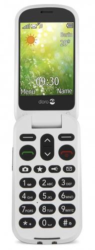 Doro 6050 2.8Zoll 111g Weiß Einsteigertelefon (Olive, Weiß)