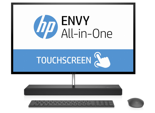 HP ENVY 27-b100ng i7-7700T 27Zoll 2560 x 1440Pixel Touchscreen Grau All-in-One-PC (Grau)