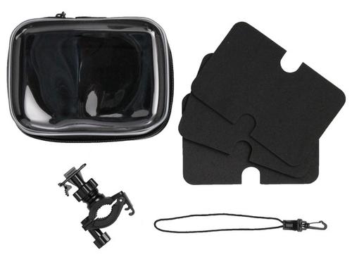 AIV 400914 Fahrrad Passiv Schwarz Halterung für Navigationssysteme (Schwarz)