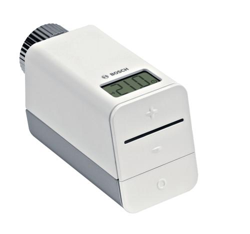 Bosch 8 750 000 002 RF Grau, Weiß Thermostat (Grau, Weiß)