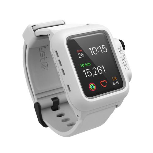 Catalyst CAT42WAT2WHT Gehäuse Weiß Polycarbonat, Silikon Smartwatch-Zubehör (Weiß)