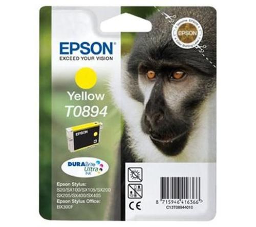 Epson Singlepack Yellow T0894 DURABrite Ultra Ink