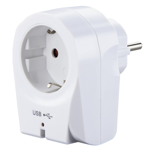 Hama 00121965 Innenraum Weiß Ladegerät für Mobilgeräte (Weiß)
