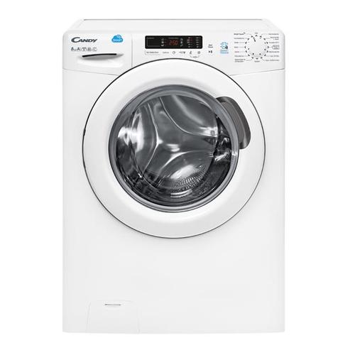 Candy CS G482D3-84 Freistehend Frontlader 8kg 1400RPM A+++ Weiß Waschmaschine (Weiß)