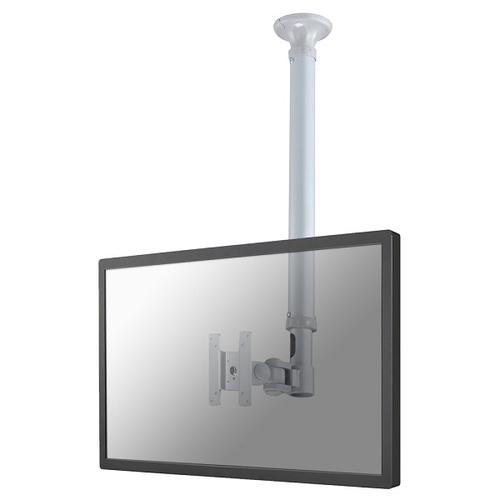Newstar FPMA-C100SILVER Flat Panel-Deckenhalter (Silber)