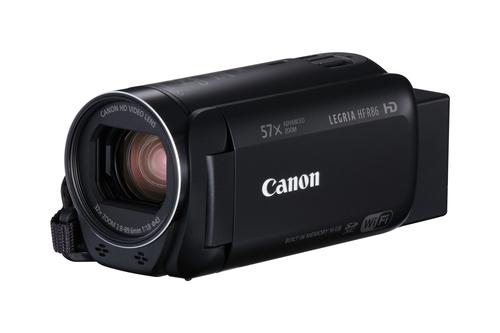 Canon LEGRIA HF R86 Handkamerarekorder 3.28MP CMOS Full HD Schwarz (Schwarz)