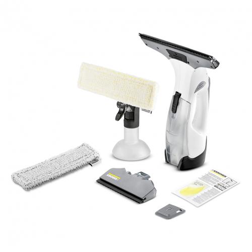 Kärcher WV 5 Premium Plus 0.1l Schwarz, Weiß Elektrischer Fensterreiniger (Schwarz, Weiß)
