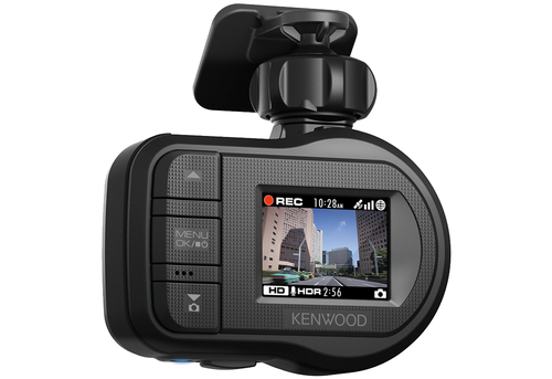 Kenwood Electronics DRV-410 Full HD Schwarz Dashcam (Schwarz)