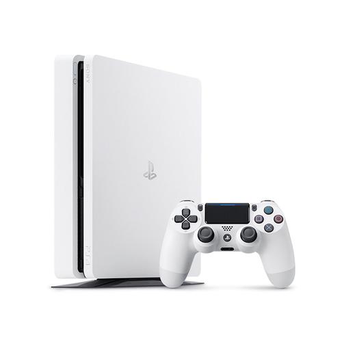 Sony 9830467 500GB WLAN Weiß Spielkonsole (Weiß)