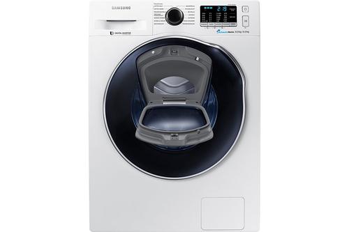 Samsung WD80K5400OW/EG Freistehend Frontlader A Weiß Waschtrockner (Weiß)