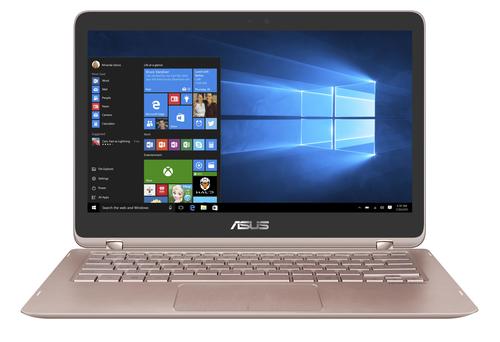 ASUS ZenBook Flip UX360UAK-BB354T 2.50GHz i5-7200U 13.3Zoll 1920 x 1080Pixel Touchscreen Rosa-Goldfarben Hybrid (2-in-1) (Rosa-Goldfarben)