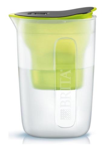 Brita Fun Pitcher-Wasserfilter 0.5l Schwarz, Limette (Schwarz, Limette, Transparent)