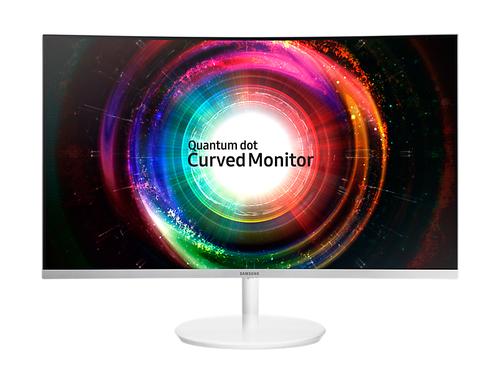 Samsung SyncMaster C27H711 27Zoll Wide Quad HD VA Matt Weiß Computerbildschirm (Weiß)