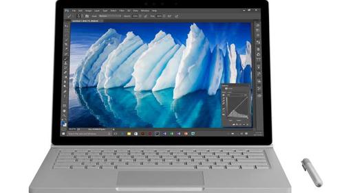 Microsoft Surface Book 2.6GHz i7-6600U 13.5Zoll 3000 x 2000Pixel Touchscreen Silber Hybrid (2-in-1) (Silber)