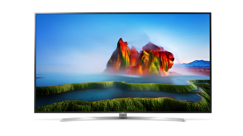 LG 75SJ955V 75Zoll 4K Ultra HD Smart-TV WLAN Schwarz, Silber LED-Fernseher (Schwarz, Silber)