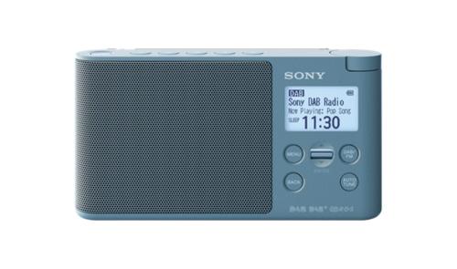 Sony XDR-S41D Tragbar Digital Blau Radio (Blau)