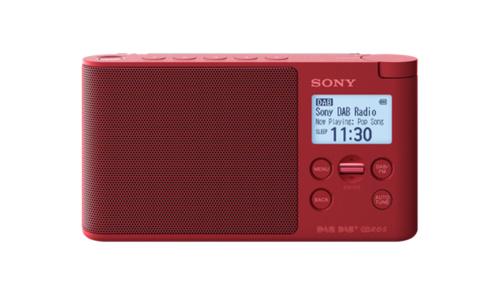 Sony XDR-S41D Tragbar Digital Rot Radio (Rot)