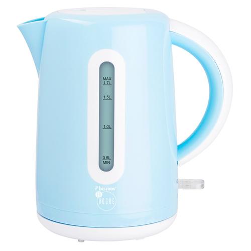 Bestron AWK300EVB 1.7l 2200W Blau Wasserkocher (Blau)