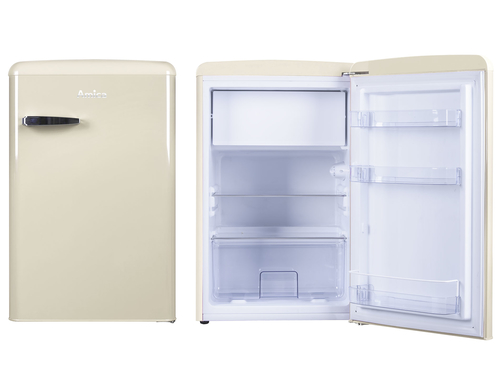 Amica VT 862 AM Freistehend 106l A++ Beige Kühlschrank mit Gefrierfach (Beige)