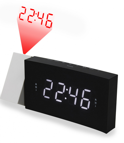 Soundmaster UR8600 Uhr Digital Schwarz Radio (Schwarz)