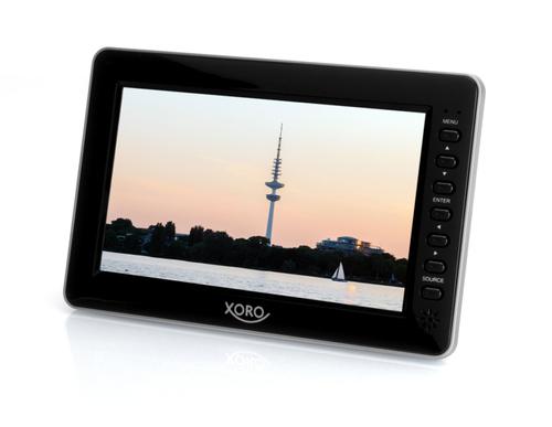 Xoro PTL 700 7Zoll LCD 1024 x 600Pixel Schwarz Tragbarer Fernseher (Schwarz)