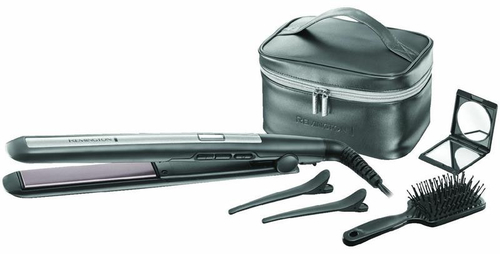 Remington S5506GP Heiß-Haarstyler 1.8m Schwarz Haarpflegegerät (Schwarz)