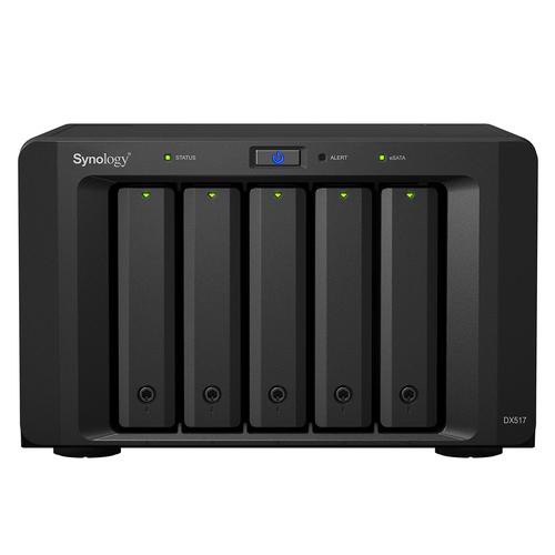 Synology DX517 Desktop Schwarz Disk-Array (Schwarz)