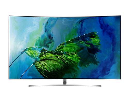 Samsung QE75Q8CGMT 75Zoll 4K Ultra HD Smart-TV WLAN Silber LED-Fernseher (Silber)