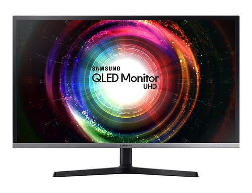 Samsung U32H850 32Zoll 4K Ultra HD VA Schwarz, Silber Flach Computerbildschirm (Schwarz, Silber)