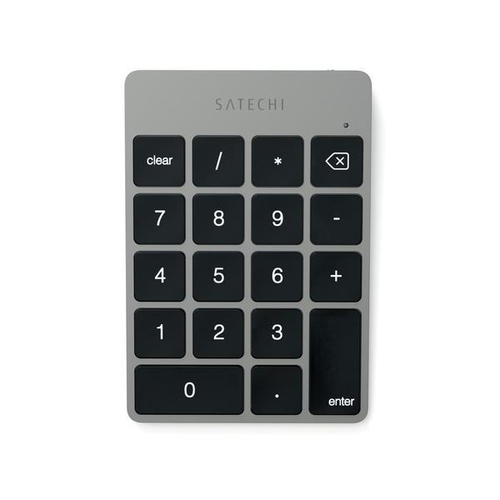Satechi ST-SALKPM Notebook / PC Bluetooth Grau Numerische Tastatur (Grau)