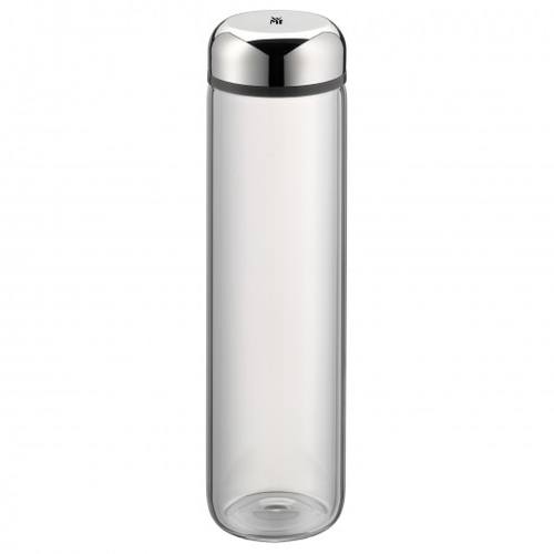 WMF 06.9083.6040 750ml Edelstahl Trinkflasche (Edelstahl, Transparent)