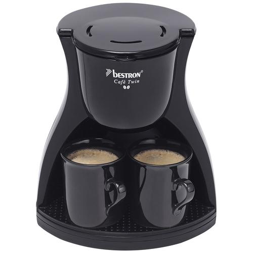 Bestron ACM8007BE Freistehend Manuell Filterkaffeemaschine Schwarz Kaffeemaschine (Schwarz)