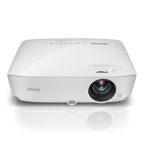Benq TW533 Desktop-Projektor 3300ANSI Lumen DLP WXGA (1280x800) 3D Weiß Beamer (Weiß)