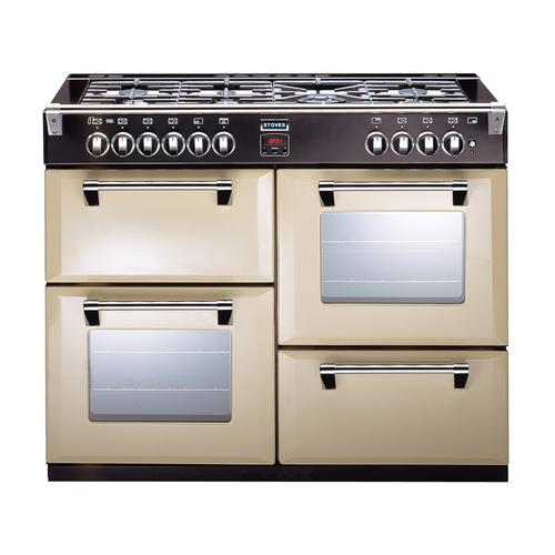 Stoves Richmond 1100DFT Range cooker Gaskochfeld A Cremefarben (Cremefarben)