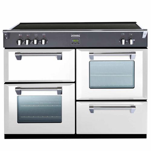 Stoves Richmond 1100Ei Range cooker Induktionskochfeld A Weiß (Weiß)