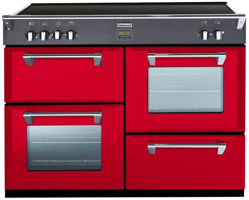 Stoves Richmond 1100Ei Range cooker Induktionskochfeld A Rot (Rot)