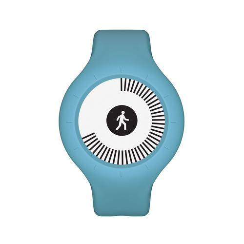 Withings Go Wristband activity tracker E-Tinte Kabellos Blau (Blau)