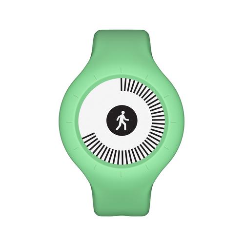 Withings Go Wristband activity tracker E-Tinte Kabellos Grün (Grün)