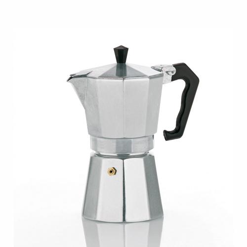 Kela 10590 Freistehend Manuell 3Tassen Aluminium Kaffeemaschine (Aluminium)