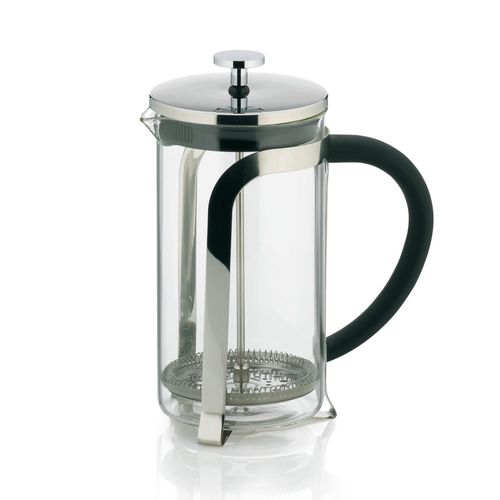Kela 10852 Freistehend 1l Edelstahl Kaffeemaschine (Edelstahl, Transparent)