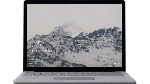 Microsoft Surface Laptop 2.5GHz i5-7200U 13.5Zoll 2256 x 1504Pixel Touchscreen Platin Notebook (Platin)