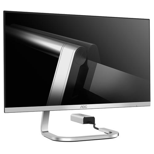 AOC PDS271 27Zoll Full HD AH-IPS Silber Computerbildschirm (Silber)