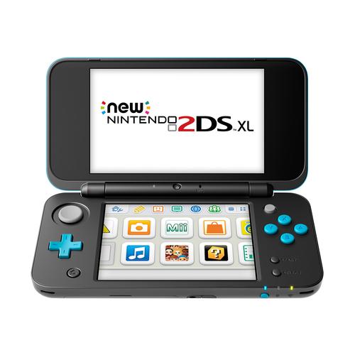 Nintendo New 2DS XL 4.88Zoll Schwarz, Türkis Tragbare Spielkonsole (Schwarz, Türkis)