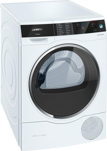Siemens WT7UH641 Freistehend Frontlader 8kg A+++ Weiß Wäschetrockner (Weiß)