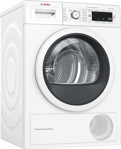 Bosch Serie 8 WTW87541 Freistehend Frontlader 9kg A++ Weiß Wäschetrockner (Weiß)
