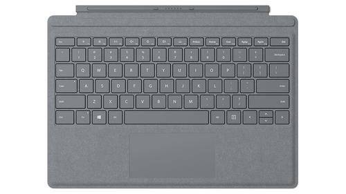 Microsoft FFP-00005 Microsoft Cover port Platin Tastatur für Mobilgeräte (Platin)