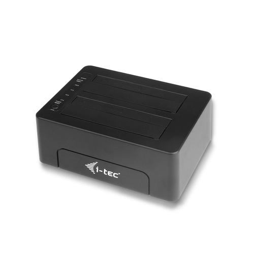 "i-tec USB 3.0 Docking Station für 2.5""/3.5"" SATA I/II/III HDD SSD (Schwarz)"