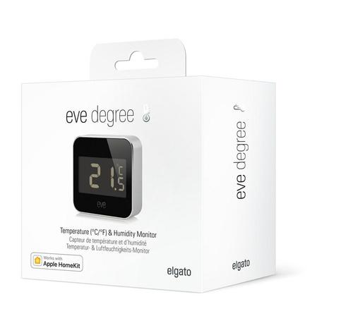 Elgato Eve Degree Innen/Außen Temperature & humidity sensor Freistehend Kabellos