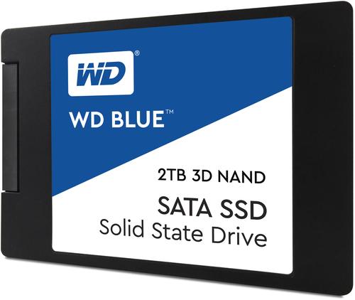 Western Digital Blue 3D NAND SATA SSD 2TB Serial ATA III (Schwarz, Blau, Weiß)